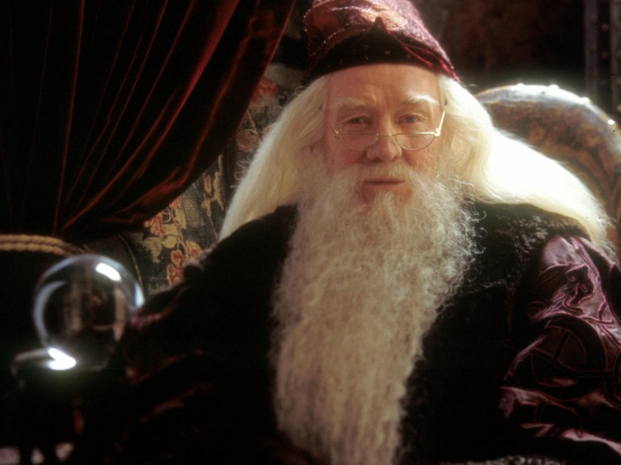 As played by Richard Harris, via fanpop.com