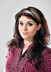 Ebury | Caitlin Moran Jacket cover shoot. 22nd April 2012 T: +44 (0) 7500 829 003 E: info@garethiwanjones.com http://www.gijones.co.uk