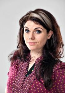 Ebury | Caitlin Moran Jacket cover shoot. 22nd April 2012 T: +44 (0) 7500 829 003 E: info@garethiwanjones.com http://www.gijones.co.uk